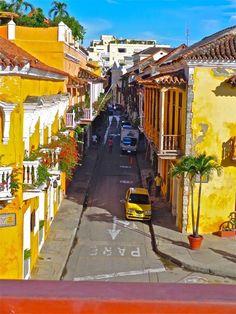 Mi cartagena hermosa . Parte de mi COLOMBIA MIA.