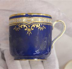 First class tea cup china used by passengers on the Titanic