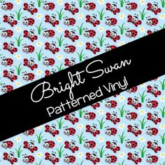Patterned Vinyl & HTV - Bugs 01 Best Settings, Craft Cutter, Patterned Vinyl, Sheet Sizes, All Brands, Heat Transfer Vinyl, Adhesive Vinyl, Bugs, Cricut