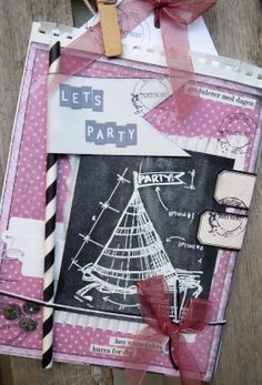 Chalkboard / Blackboard card