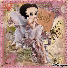 Betty Boop in Paris