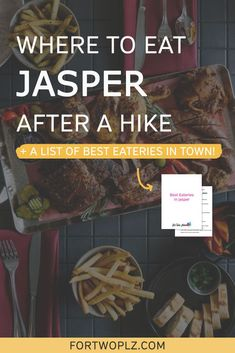 [Canada National Parks] Looking for the best Jasper restaurant to unwind after the Maligne Canyon hike? Not gonna lie, it can be difficult to find good restaurants in the Rocky Mountains. When it comes to the best place to eat in Jasper National Park, Maligne Canyon Wilderness Kitchen deserves to be at the top of the list. Not only does it serve the best food in Jasper, but it also gives you the most unforgettable dining experience! Check the blog to find out more. Canada Travel, Travel Usa, California Food, Visit Canada, Food Tasting, Worldwide Travel, Best Places To Eat, Foodie Travel, Vacation Trips