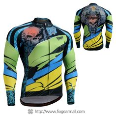 Fixgearmall - #FIXGEAR Men's #Cycling #Jersey, model no CS-7401, #Unique Design and Advanced Performance Fabric. ( #AeroFIX ) #MTB #Roadbike #Bicycle #Downhill #Bike #Extreme #Sportswear