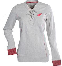 Antigua Red Wings lace-up fleece