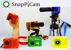 SnapPiCam, une caméra qui utilise un Raspberry Pi