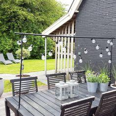 35 vind-ik-leuks, 4 reacties - Aafke (@aafkesb_) op Instagram: 'Hé zon! Kom maar op! #tuin #garden #tafelklem #intratuin #lampjes #hemanederland #buitenleven…'