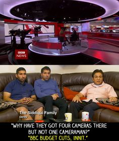 "At the start of a BBC News bulletin. | 18 Times ""Gogglebox"" Failed So Much It Actually Won"