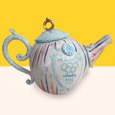Miranda Berrows -Tea Pot for London 2012