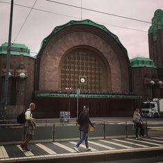 ヘルシンキ中央駅もう冬の感じ#Helsinki #finland
