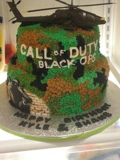 Call Of Duty Cake Recipe : recipe, CAKES, Ideas, Cakes,, Duty,, Birthday, Parties