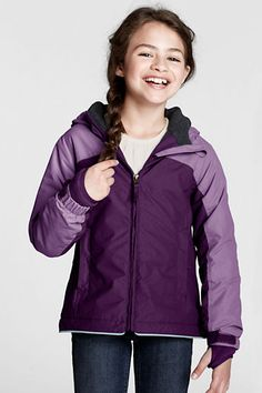 Humor Lands End Squall 3t Girls Grape Purple Snow Bibs Pants Overalls Baby & Toddler Clothing