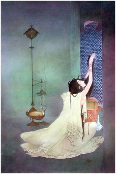 Let me out of my cage.. Chughtai Art
