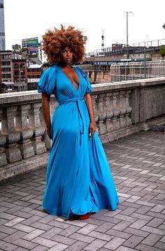 Curvy Girl Fashion, Diva Fashion, Plus Size Fashion, Womens Fashion, Girl Outfits, Cute Outfits, Look Plus Size, Cute Dresses, Maxi Dresses
