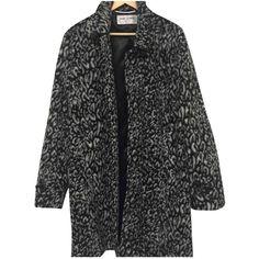 Pre-owned Saint Laurent Coat (98.035 RUB) ❤ liked on Polyvore featuring men's fashion, men's clothing, men's outerwear, men's coats, black, men clothing coats and yves saint laurent