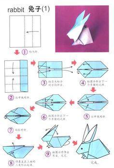 origami instructions | advanced origami bunny