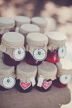 Homemade Jam Wedding Favours | Bridal Musings Wedding Blog