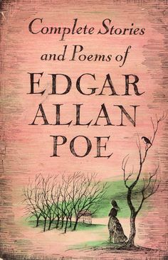 "BOOK-""Complete Stories and Poems of Edgar Allan Poe""-. Cover Art by Edward Gorey Edward Gorey, Edgar Allan Poe, I Love Books, Good Books, Books To Read, My Books, Amazing Books, Vintage Book Covers, Vintage Books"