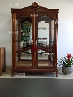 Flea Market Finds, China Cabinet, Antique Furniture, Sweet Home, Antiques, Storage, Wood, Home Decor, Diy