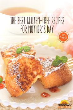 Make Mother's Day morning the best ever with Make-Ahead French Toast for Breakfast! This simple French Toast casserole can be prepared in 10 minutes the night before, and stored in the fridge until morning. It's a gluten-free crowd pleaser that will give mom a great start to her day! Happy Mother's Day!
