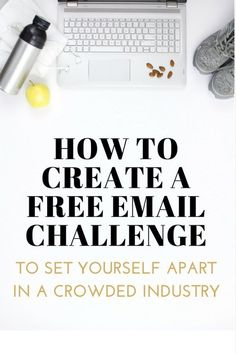 How to create a free email challenge (or course) to set yourself apart in a crowded market E-mail Marketing, Business Marketing, Online Marketing, Digital Marketing, Business Advice, Online Business, Etsy Business, Detox Challenge, Digital Detox
