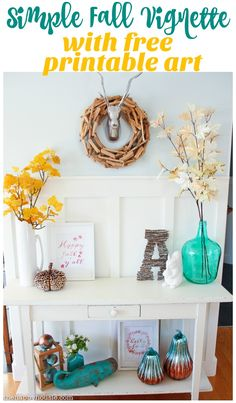 """Add moss """"sticks"""" to my grapevine wreath.  Pumpkin out of pinecones?"""
