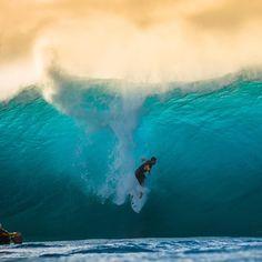 "Gabriel Medina Oh shiii…pipe today was ""kinda"" fun... @henriquepinguim via Instagram on Surftagram"