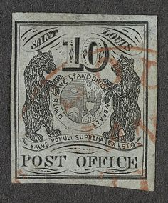 United States - St Louis 1845-46. Before the first issue of postage stamps were ready for the use in all parts of the United States in 1847, local Postmasters made provisional issues.