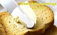 Aprenda como fazer uma receita deliciosa de manteiga caseira.