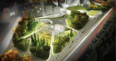 Diller, Scofidio & Renfro's Aberdeen City Garden Redesign