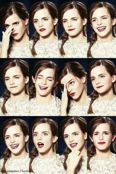 Expressions of Emma :)