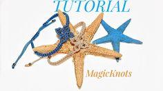 Micro Macrame Flower Bracelet ♥ DIY ♥