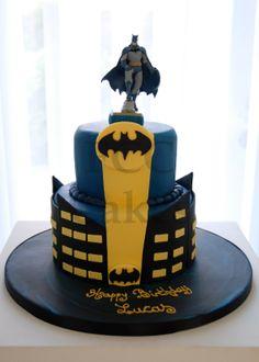 Cake for boys Batman - Gateau D'anniversaire Pour Enfants Garcon Batman - Verjaardagstaart