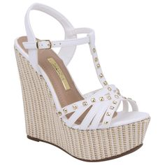 Pretty Shoes, Beautiful Shoes, Frauen In High Heels, Glamour Beauty, Wedding Shoes Heels, Wedge Shoes, Footwear, Wedges, Booty