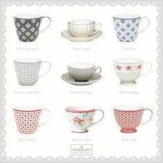 new GreenGate's 2015 cups in the shop