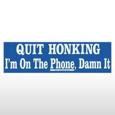Think I should get a load of these & hand them out around here!