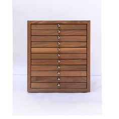 Coin cabinet in massive wood by NewConceptWood on Etsy