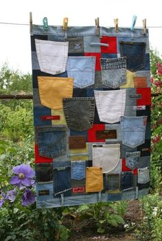 How to recycle shares a few recycled craft ideas from your old jeans and have a hundred patience to make home decors with old jeans labels....