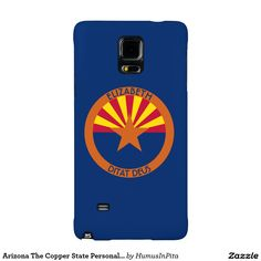 Arizona The Copper State Personalized Flag Galaxy Note 4 Case