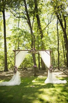 43 Outdoor Summer Wedding Arches | HappyWedd.com