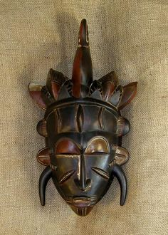 african mask | African Masks - Senufo Mask 32 - Front - Click for a more detailed ...