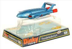 dinky toys thunderbird 2. I still have this somewhere.
