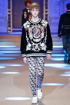 Dolce Gabbana Herbst/Winter Menswear - Fashion Week, Seite 83 ( Deutschland - look Men Fashion Show, Best Mens Fashion, Vogue Fashion, Fashion Show Collection, Fashion Week, Runway Fashion, Trendy Fashion, Winter Fashion, Fashion Outfits