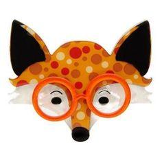 Oscar Wildenfox Fox Erstwilder Brooch