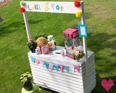 DIY Limonadenstand Verkaufsstand Kinder