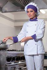 Siete pronti per il cambio di stagione? Giacca Donna Cuoco Chef da lavoro Ristorante Abbigliamento Abiti
