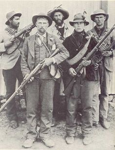 Afrikaner soldiers in the Anglo Boer War