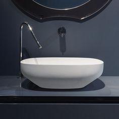 ステンレススチール洗面皿用蛇口 AYATISIMPLE: AY100CLU/AY101CLU ANTONIO LUPI