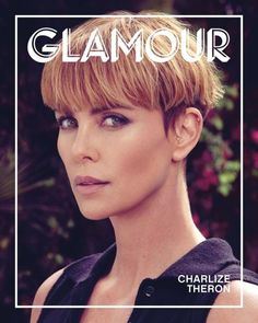 Charlize Theron for Glamour Magazine Women of the Year Issue 2019 Charlize Theron Hair, Charlize Theron Photos, Got Married, Getting Married, Melena Bob, Braut Make-up, Glamour Magazine, Bowl Cut, Mom Advice