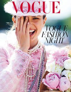 Les mannequins stars du numéro de septembre 2014 de Vogue Paris Andreea Diaconu