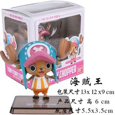 Japanese Anime Cartoon One Piece New World Tony Tony Chopper Action Figures PVC Doll Model Collection decoration gift from Reliable action figures  $11.99